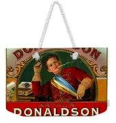 Arthur Donaldson Weekender Tote Bag