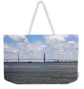 Arthur Ravenel Bridge Weekender Tote Bag
