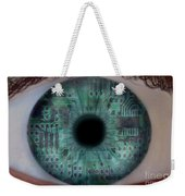 Artificial Intelligence Weekender Tote Bag by Mike Agliolo