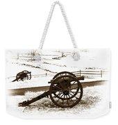 Artillery Positions - Toned Weekender Tote Bag
