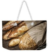 Artisan Bread Weekender Tote Bag by Elena Elisseeva