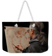 Artist At Work Florence Italy Weekender Tote Bag