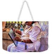 Artist At Work - Painting  Weekender Tote Bag