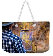 Artist At Work - Zion Weekender Tote Bag