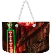 Artist Cafe Weekender Tote Bag