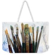 Artist Paintbrushes Weekender Tote Bag