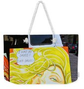 Artist With Attitude Weekender Tote Bag