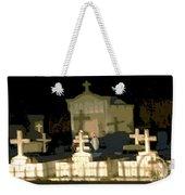Louisiana Midnight Cemetery Lacombe Weekender Tote Bag