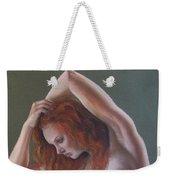 Artistic Nude Weekender Tote Bag by Leida Nogueira