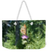 Artistic Butterfly Stand  Weekender Tote Bag