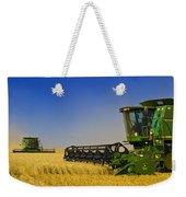 Artists Choice Two Combine Harvesters Weekender Tote Bag