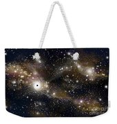 Artists Concept Of A Black Hole Weekender Tote Bag by Marc Ward