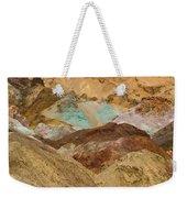 Artist's Paint Palette Abstract Weekender Tote Bag