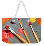 Artist's Palette Weekender Tote Bag