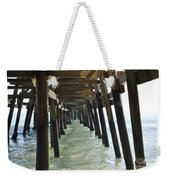 Long Walk Short Pier Weekender Tote Bag
