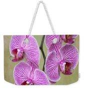 Artsy Phalaenopsis Orchids Weekender Tote Bag