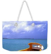 Aruba. Fishing Boat Weekender Tote Bag by Anonymous