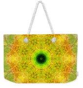 Moss Mandala Weekender Tote Bag
