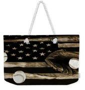 As American As Apple Pie Weekender Tote Bag