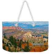 As Far As The Eye Can See From Farview Point In Bryce Canyon-utah   Weekender Tote Bag