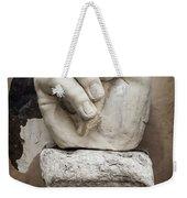 As I Was Saying Weekender Tote Bag by Joan Carroll