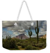 As The Clouds Pass By  Weekender Tote Bag