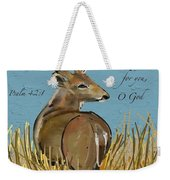 As The Deer Weekender Tote Bag