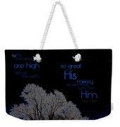 As The Heavens Weekender Tote Bag