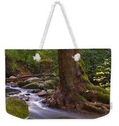 As The River Runs Weekender Tote Bag