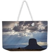 As The Storm Moves In Weekender Tote Bag
