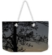 As The Sun Fades Behind The Mountian Weekender Tote Bag