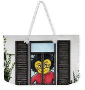 As You Look Into A Window Into It So It Looks Out Weekender Tote Bag