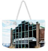 Asbury Park Casino - My City In Ruins Weekender Tote Bag by Bill Cannon