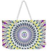 Ascending Eye Of Spirit Kaleidoscope Weekender Tote Bag by Derek Gedney