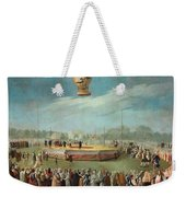 Ascent Of A Balloon In The Presence Of The Court Of Charles Iv Weekender Tote Bag