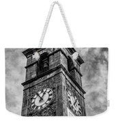 Ascona Clock Tower Bw Weekender Tote Bag