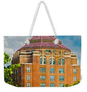 Asheville City Hall Weekender Tote Bag by John Haldane