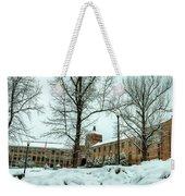 Asheville High School During Winter Weekender Tote Bag