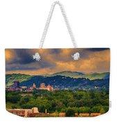 Asheville North Carolina Weekender Tote Bag