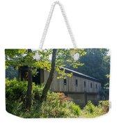 Ashtabula Collection - Olin's Covered Bridge 7k01977 Weekender Tote Bag