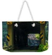 Ashtabula Collection - Olin's Covered Bridge 7k01978 Weekender Tote Bag