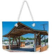 Ashtabula Collection - West Liberty Covered Bridge 7k02064 Weekender Tote Bag