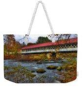 Ashuelot Covered Bridge 2 Weekender Tote Bag by Joann Vitali