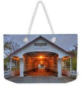 Ashuelot Covered Bridge Weekender Tote Bag