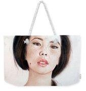 Asian Beauty Weekender Tote Bag