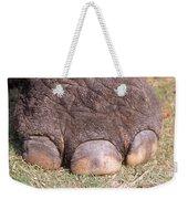 Asian Elephant Foot Weekender Tote Bag