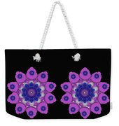 Asian Purple Orchids Weekender Tote Bag