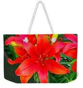 Asiatic Hybrid Lily Weekender Tote Bag