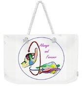 Asl Always And Forever Weekender Tote Bag