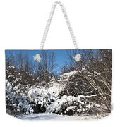Asleep Under The Snow Weekender Tote Bag
